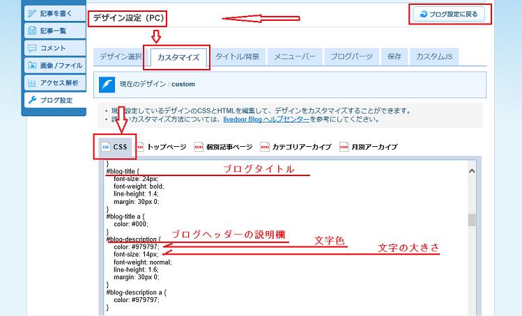 ライブドアブログで基本説明文を隠す方法-SEO対策もOK!