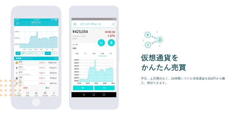 Coincheck(コインチェック)-アプリ